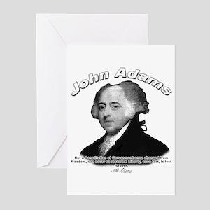 John Adams 04 Greeting Cards (Pk of 10)