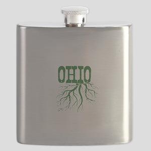 Ohio Roots Flask