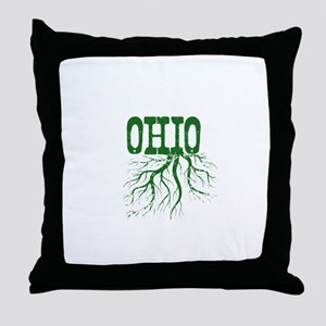 Ohio Roots Throw Pillow