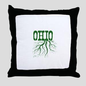 Ohio Roots Throw Pillow