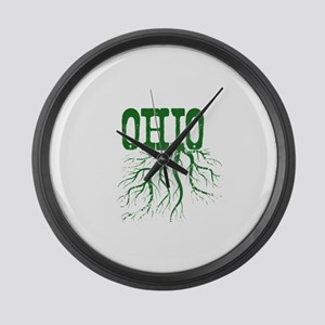 Ohio Roots Large Wall Clock