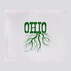 Ohio Roots Throw Blanket