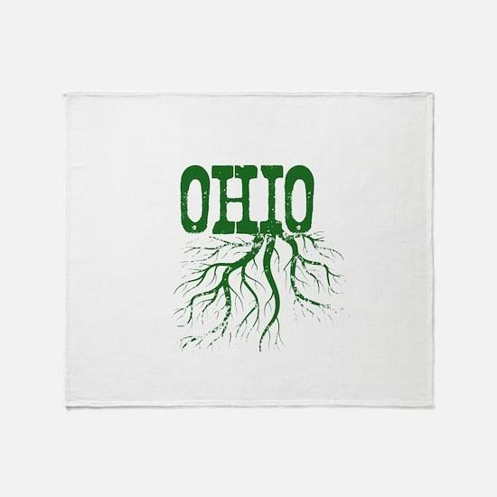 Ohio Roots Throw Blanket