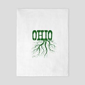 Ohio Roots Twin Duvet