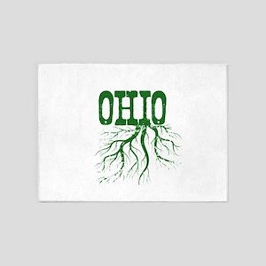 Ohio Roots 5'x7'Area Rug
