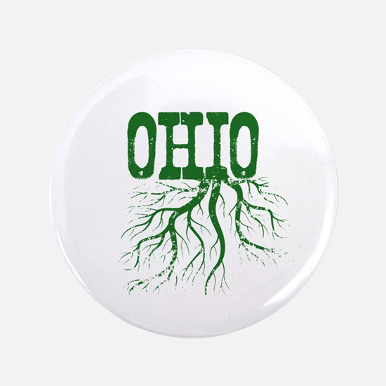 """Ohio Roots 3.5"""" Button"""