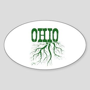 Ohio Roots Sticker (Oval)