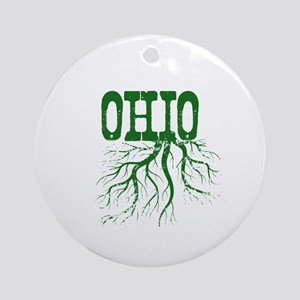 Ohio Roots Ornament (Round)