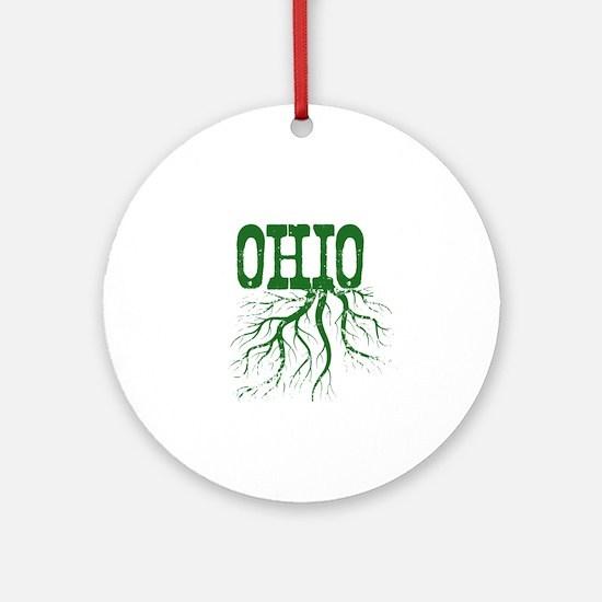 Ohio Roots Ornament (Round)