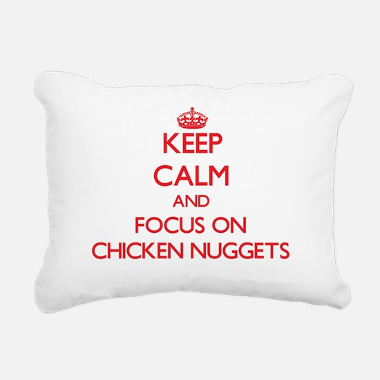 Unique Chicken Rectangular Canvas Pillow