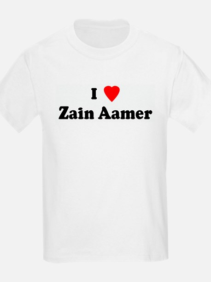 I Love Zain Aamer T-Shirt