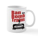 Ban The Bomb Trains Coffee Mugs