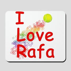 I Love Rafa Mousepad