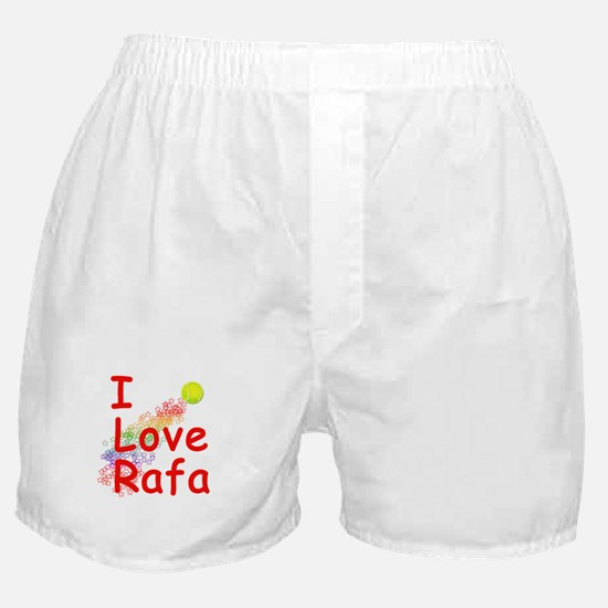 I Love Rafa Boxer Shorts