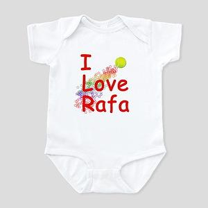 I Love Rafa Infant Bodysuit