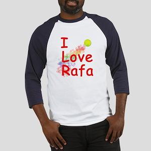 I Love Rafa Baseball Jersey