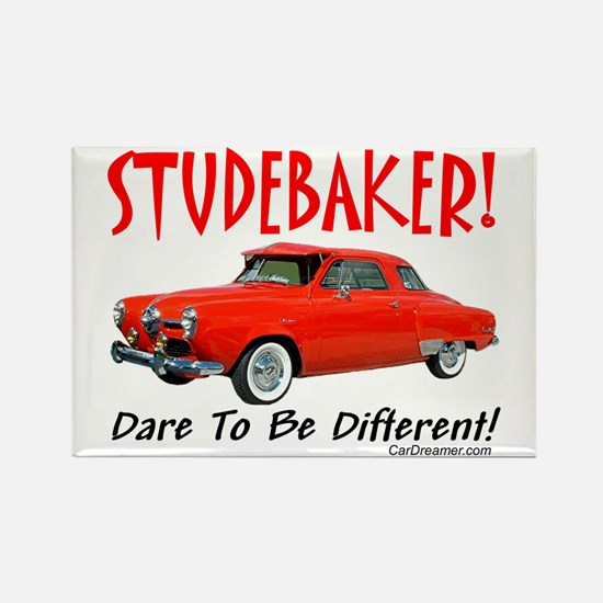 Studebaker-Dare to be Diff Rectangle Magnet