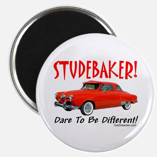"""Studebaker-Dare to be Diff 2.25"""" Magnet (100"""