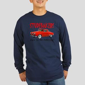 Studebaker-Dare to be Diff Long Sleeve Dark T-Shir