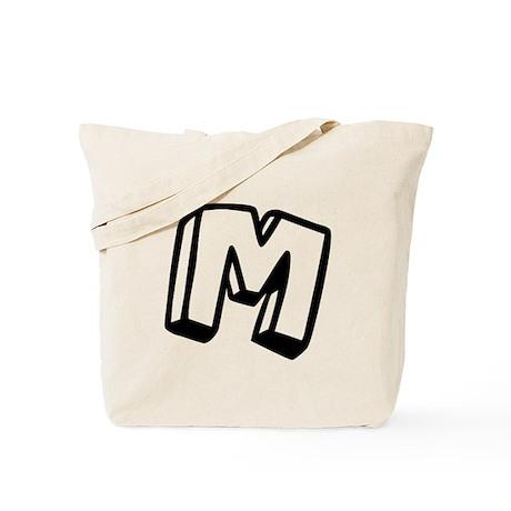 "Letter ""M"" Tote Bag"