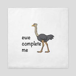 Ewe Complete Me Queen Duvet