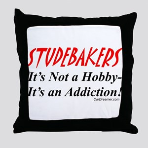 Studebaker Addiction Throw Pillow