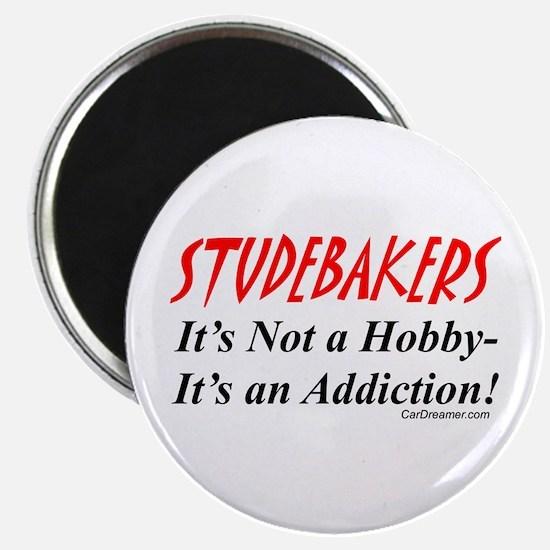 """Studebaker Addiction 2.25"""" Magnet (100 pack)"""