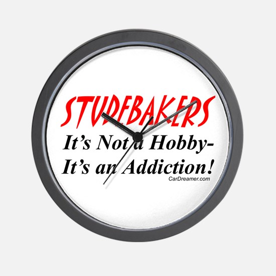 Studebaker Addiction Wall Clock