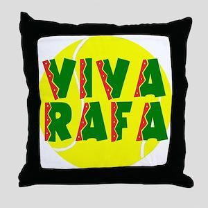 Viva Rafa Throw Pillow