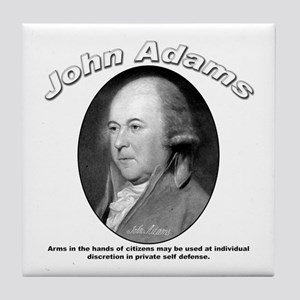 John Adams 05 Tile Coaster