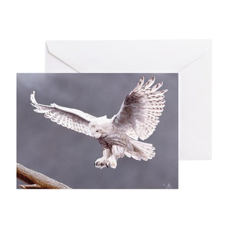 Snow Wings; Greeting Cards (Pk of 10)