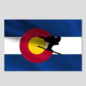 Colorado Skiing Postcards (Package of 8)