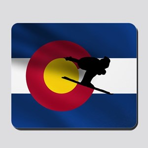 Colorado Skiing Mousepad