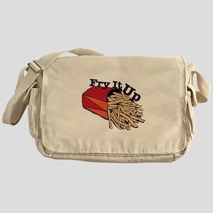 Fry It Up Messenger Bag