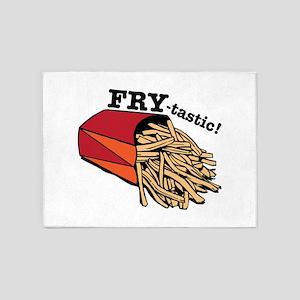 Fry-tastic 5'x7'Area Rug
