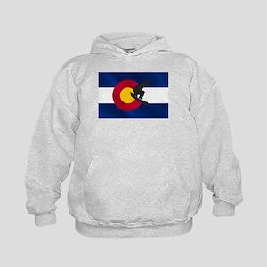Colorado Snowboarding Kids Hoodie