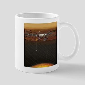 insight lander Mugs