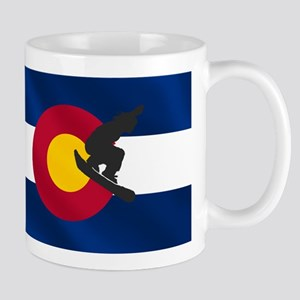 Colorado Snowboarding Mug Mugs