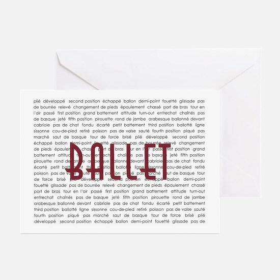 Ballet Greeting Cards (Pk of 10)