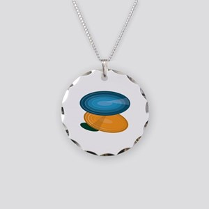 Colorful Disks Necklace