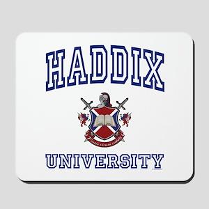 HADDIX University Mousepad