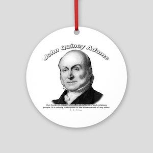 John Quincy Adams 01 Ornament (Round)