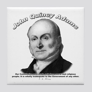 John Quincy Adams 01 Tile Coaster