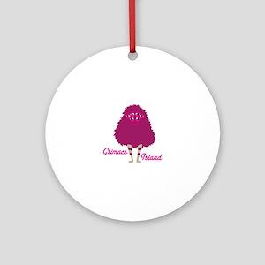 Grimace Island Ornament (Round)
