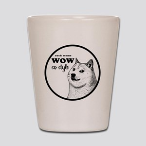 Wow SO Style, such Meme Shot Glass