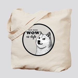 Wow SO Style, such Meme Tote Bag