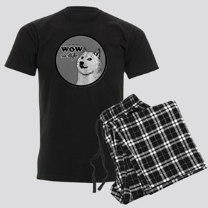 Wow SO Style, such Meme Men's Dark Pajamas