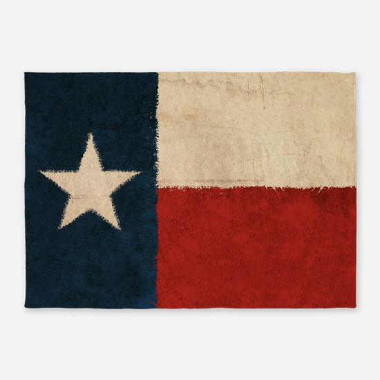 Rustic Republic of Texas 5'x7'Area Rug