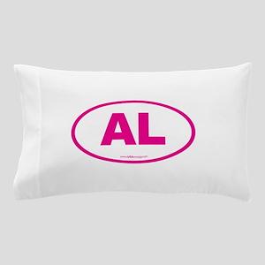 Alabama AL Euro Oval PINK Pillow Case