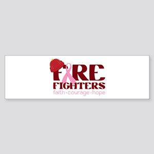 Fighters Faith.courage.hope Bumper Sticker